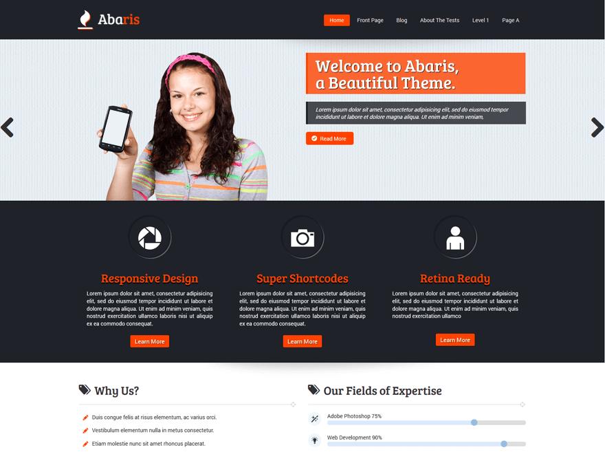 Abaris-Shot-WordPress-Template