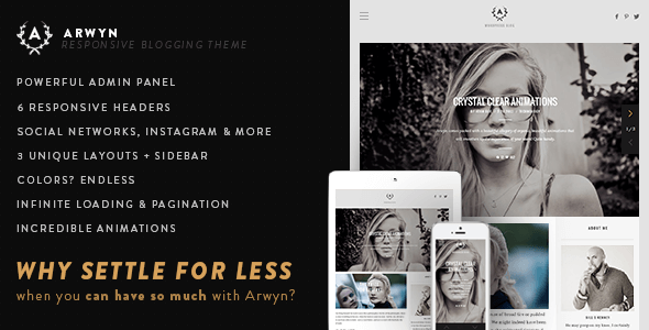Arwyn-WordPress-Tema-Blog