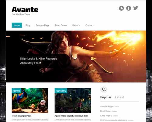 Avante-Tema-WordPress-Responsive