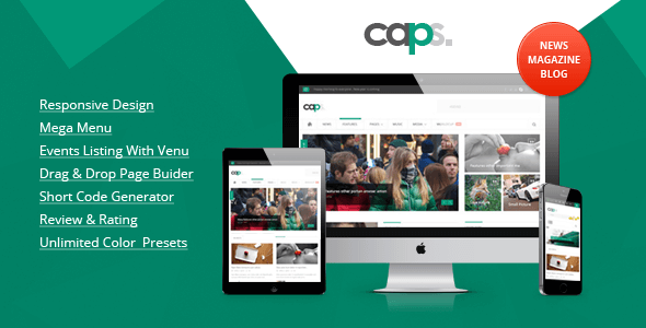 Caps-Tema-WordPress-Magazine