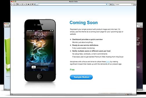 Coming-Soon-WordPress-Gratis-Tema