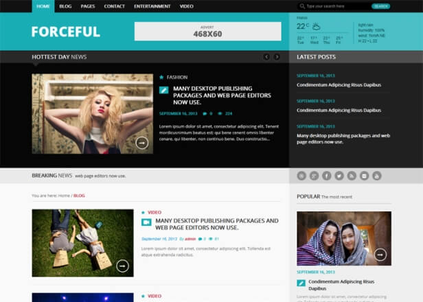 Forceful-Lite-WordPress-Free-Template