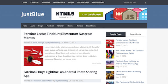 JustBlue-Tema-WordPress-Gratis