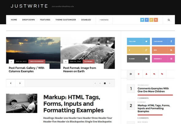 JustWrite-Tema-WordPress-Gratis-Free