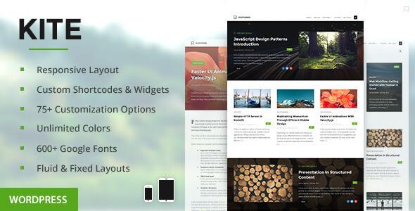 Kite-Tema-WordPress-Blog