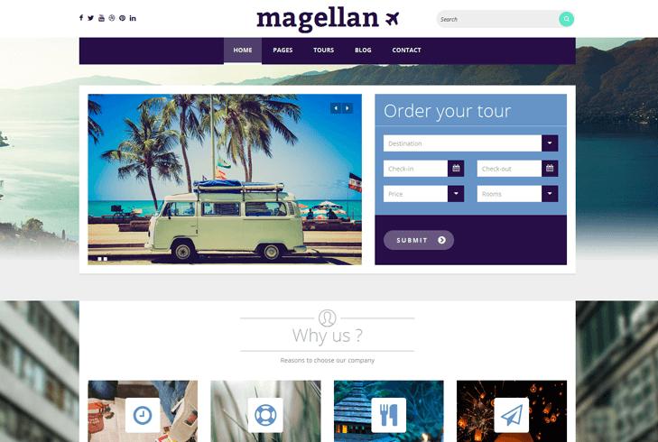 Magellan Tema
