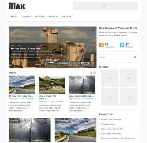 Max-Magazine-Gratis-WordPress-Tema