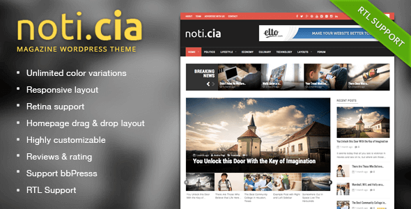 Noticia-WordPress-Tema