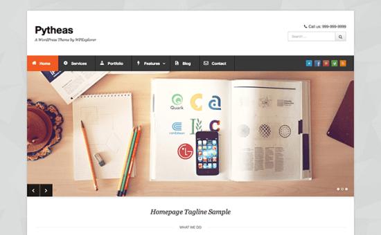 Pytheas-Tema-WordPress-Gratis