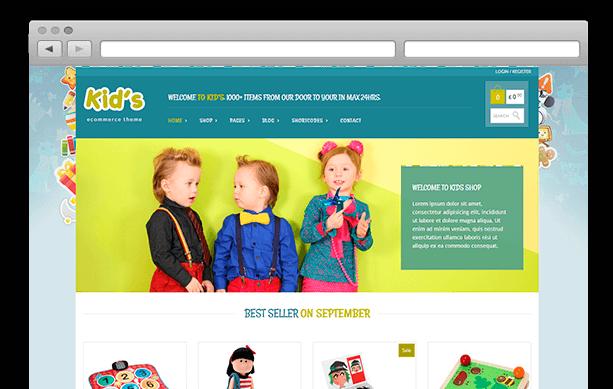 Tema-WordPress-Gratis-eCommerce-KidShop