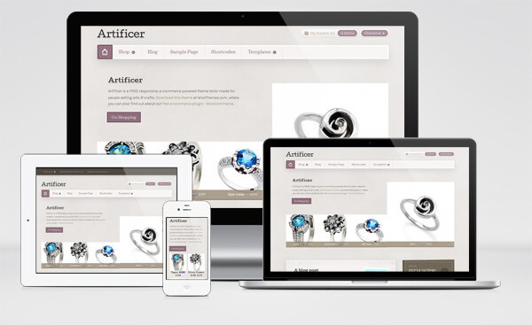 Tema-eCommerce-Gratis-Artificer-WooThemes