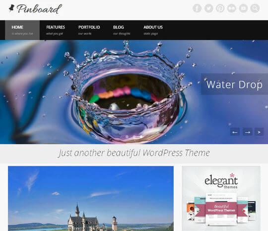 pinboard-wordpress-magazine-news-free-gratis-tema