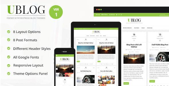 uBlog-WordPress-Tema