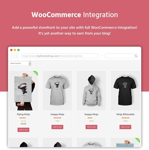 Tema Woo Commerce